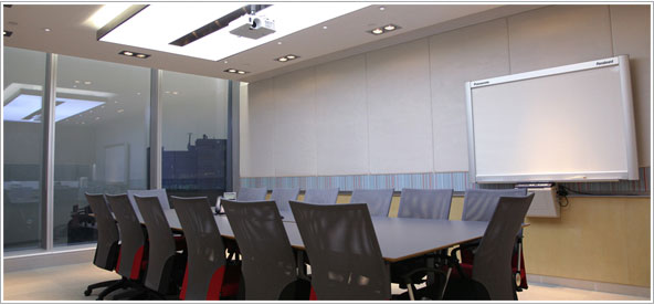 boardroom led downlight installation